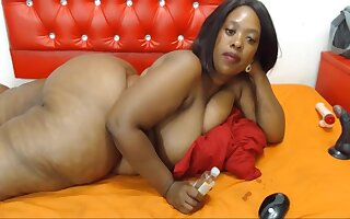 Grand Ass, For detail Shape, Black Woman With Dirty Feet, Webcam