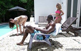Interracial making love all drop the house surrounding XXX chick Aidra Asmodeus
